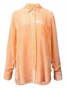 Sies Marjan ribbed velvet shirt - Yellow