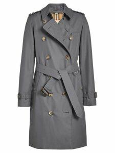 Burberry The Kensington Heritage Trench Coat - Grey