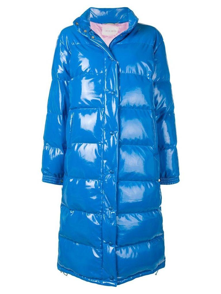 Alberta Ferretti oversized 'friday'puffer jacket - Blue