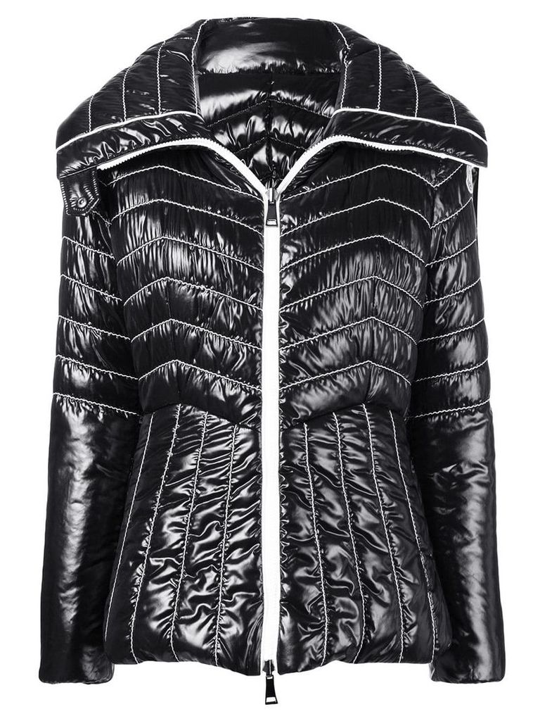 Moncler quilted padded jacket - Black