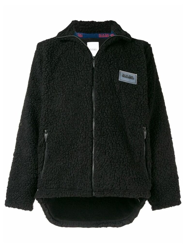 Napa By Martine Rose shearling zipped jacket - Black
