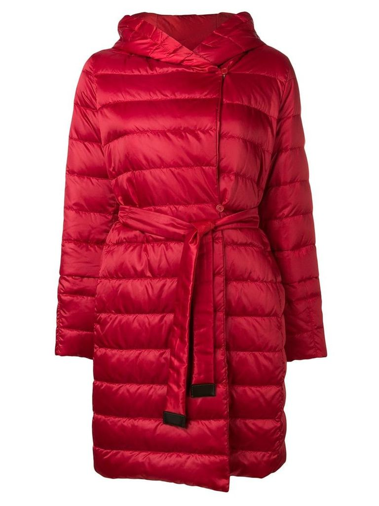 'S Max Mara quilted shell jacket - Red