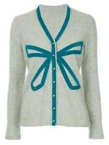 Onefifteen bow detail cardigan - Grey