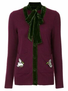 Onefifteen cashmere knitted cardigan - Pink