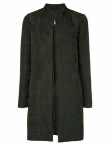 Chanel Pre-Owned long sleeve coat jacket - Black