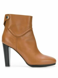 Hermès Pre-Owned high-heel ankle boots - Brown