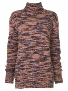 Sies Marjan marled roll neck jumper - Multicolour