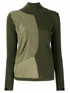 Stefano Mortari perfectly fitted sweater - Green
