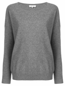 Philo-Sofie wide round neck sweater - Grey