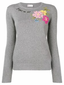 RedValentino 'Forget Me Not' sweater - Grey