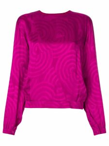 Christian Dior Pre-Owned patterned blouse - PINK