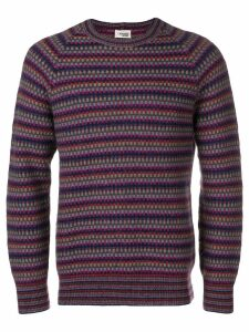 Missoni Pre-Owned 1980's striped jumper - Blue