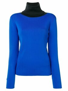 Simon Miller contrasting collar sweater - Blue