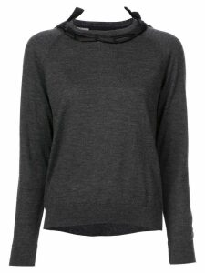 Simone Rocha ribbon detail sweater - Grey