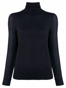 Tory Burch turtleneck sweater - Blue