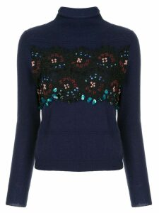 Onefifteen sequin embellished sweater - Blue