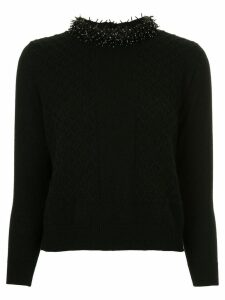 Onefifteen cashmere knitted sweater - Black