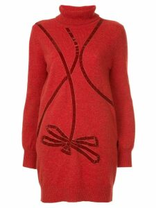 Onefifteen knitted sweater - Red