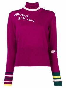 Mira Mikati Fastest Girl Alive jumper - Purple