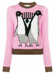 Chiara Ferragni penguin sweater - PINK