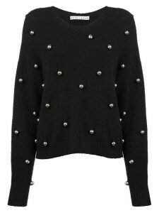 Alice+Olivia Gleeson jumper - Black