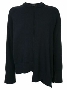 MRZ asymmetric loose sweater - Blue