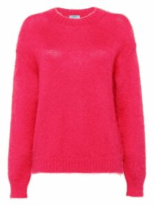 Prada brushed mohair sweater - Pink