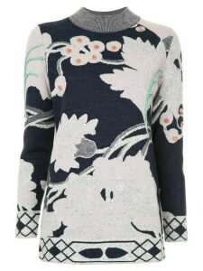 Onefifteen floral pattern sweater - PINK
