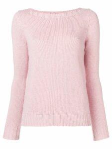 Aragona cashmere knit sweater - PINK