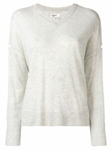 Isabel Marant Étoile v-neck loose sweater - Grey