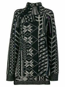 Yohji Yamamoto pattern embellished sweater - Black