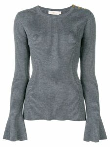 Tory Burch knitted Liv sweater - Grey