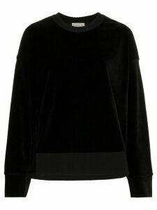 Moncler Maglia Sweatshirt - Black