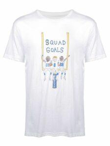 Unfortunate Portrait Squad Goals T-shirt - White