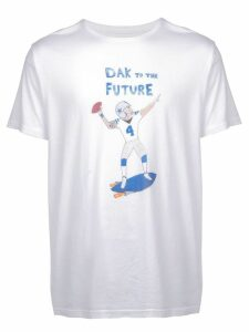 Unfortunate Portrait Dak to the Future T-shirt - White