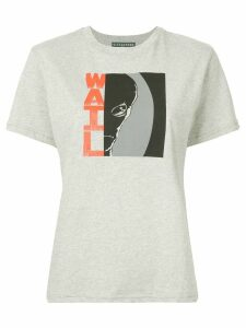 Alexa Chung graphic print T-shirt - Grey