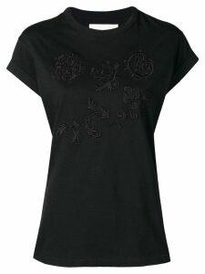 Chloé embroidered T-shirt - Black