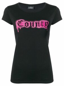 Marcelo Burlon County Of Milan fitted logo T-shirt - Black
