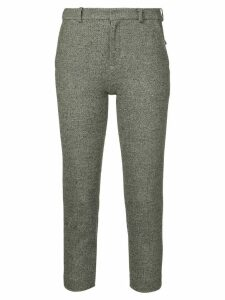 Loveless slim-fit cropped trousers - Grey