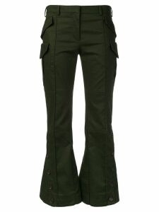 Rokh cropped trousers - Green