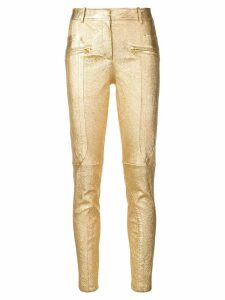 Sies Marjan metallic slim-fit trousers