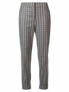 Lorena Antoniazzi patterned trousers - Grey