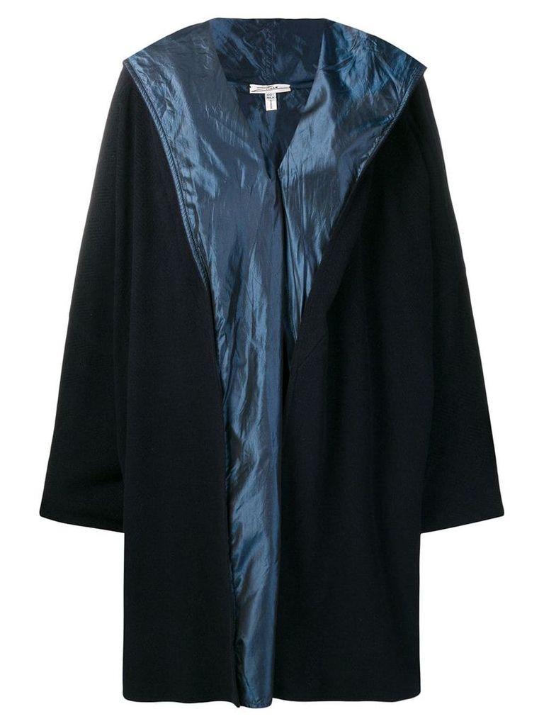 A.N.G.E.L.O. Vintage Cult 1990's hooded cape coat - Blue