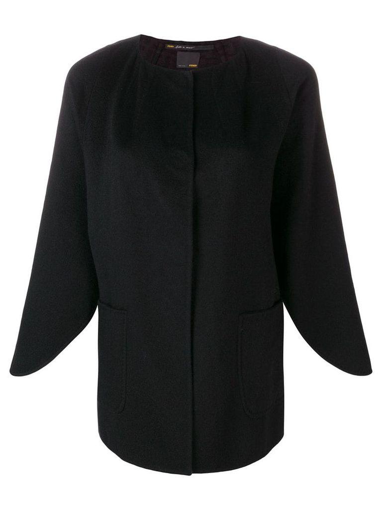 Fendi Vintage 2000's tied jacket - Black