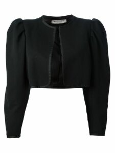 Yves Saint Laurent Pre-Owned cropped bolero jacket - Black