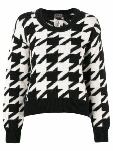 Gianfranco Ferré Pre-Owned jacquard knit sweater - Black