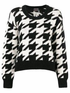 Gianfranco Ferré Pre-Owned jacquard knit sweater - Black