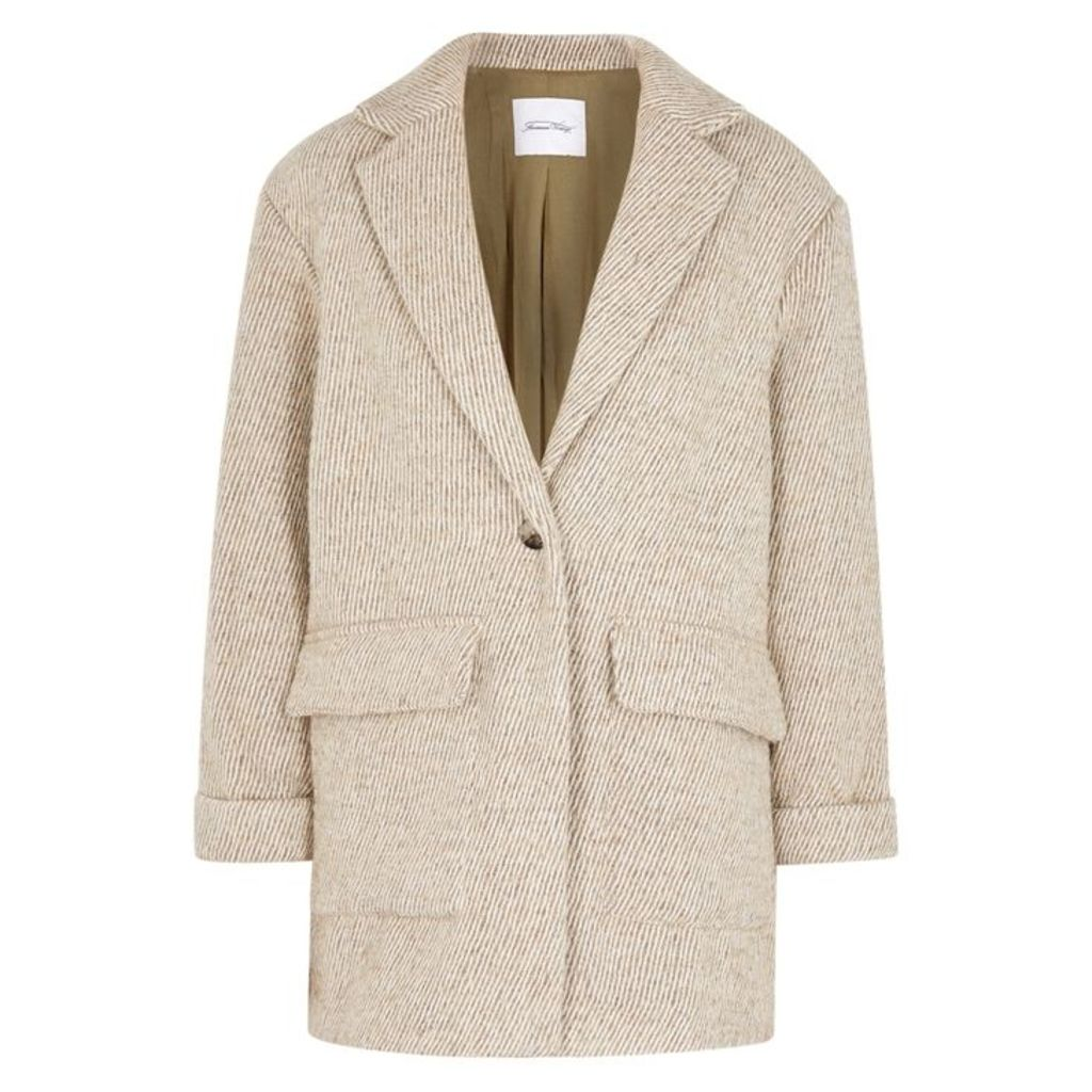 American Vintage Topitown Taupe Knitted Jacket