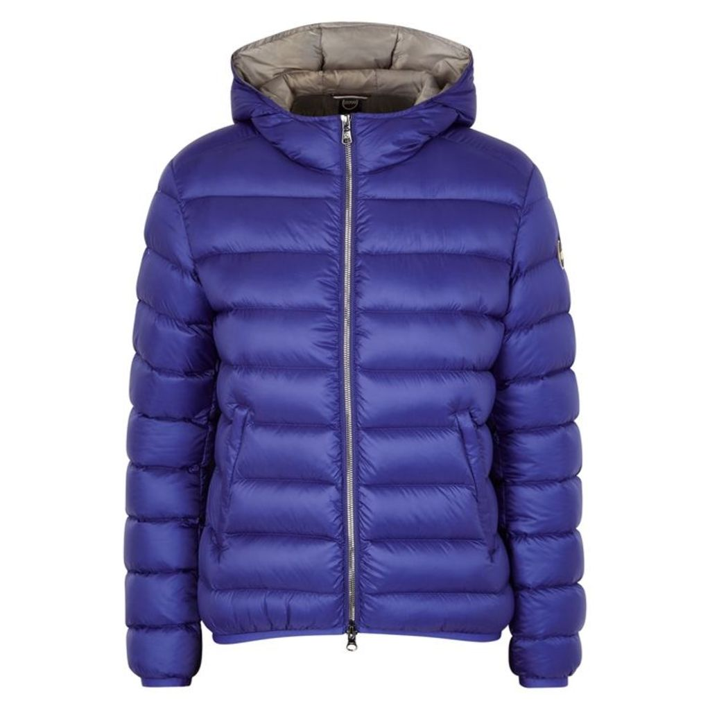 Colmar Blue Water-repellent Shell Jacket