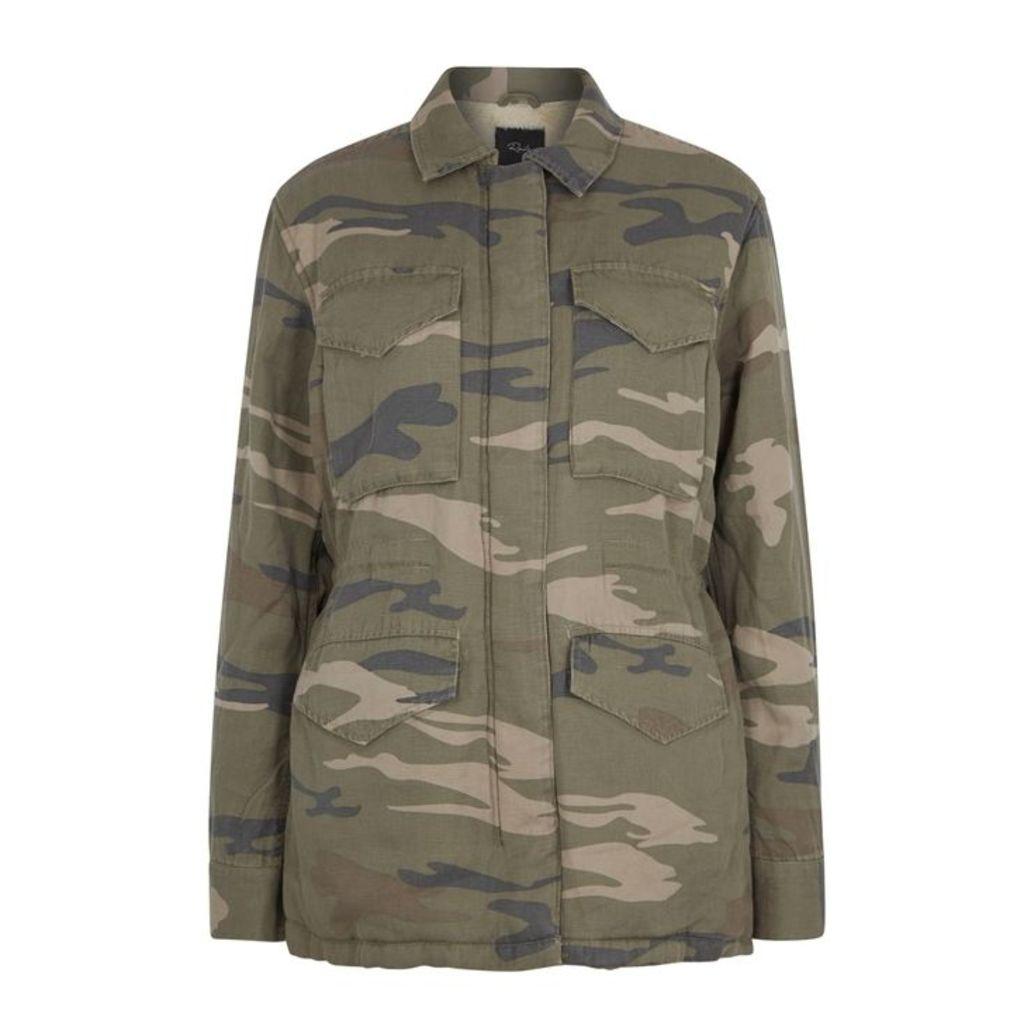 Rails Whitaker Camouflage-print Jacket